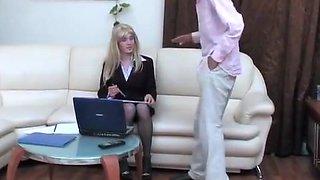 Yummy crossdresser enjoys nice anal fuck