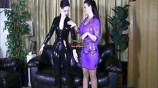 Lesbian Latex Model Xix
