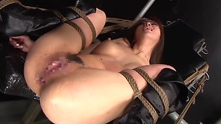 Bdsm. extreme japanese anal sex