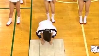 japanese schoolgirls Hairy Pussies Hot Asses Stretch During Gym Class