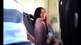School bus handjob