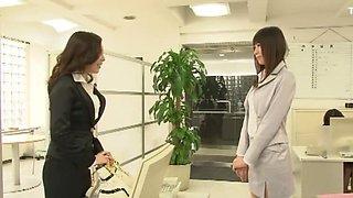 Fabulous Japanese girl Yuria Shima, Azusa Ito, Maki Mizusawa in Hottest Lesbian JAV movie