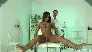 Sandra gets dominated and fucked hard by some tattooed stud