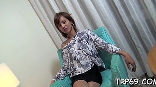 bouncing on cock in a closeup segment movie 1