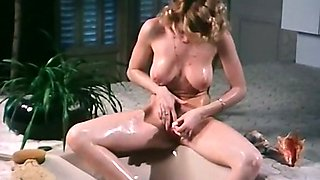 Mature white dude in the hottub with two gorgeous ladies