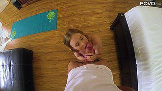 Fantastic reverse cowgirl ride with salacious Lanna Carter