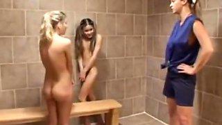 Schoolgirls Caught By Their Lesbian Teacher