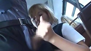 Bus Full of Blonde School Girls 3