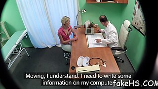 exciting therapy with a horny doctor clip