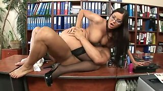 Secretary pleases the boss