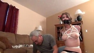 Ashley lane severely tied up
