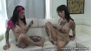 Hottest pornstars Dollie Darko, Small Hands, Joanna Angel in Horny Emo, Brunette xxx clip