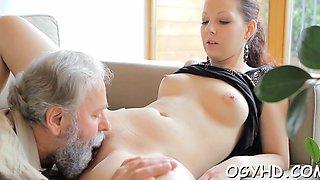 Sex appeal russian maid chose the biggest boner
