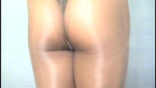 crossdresser pantyhose ass 131