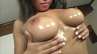 A Busty Ebony Babe Takes A Banging