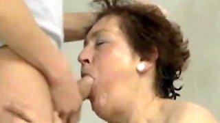 Poolside perverted granny