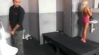 Op het toilet genomen