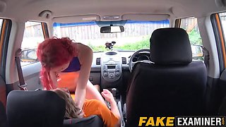 british redhead cunt tested by her devoted instructor