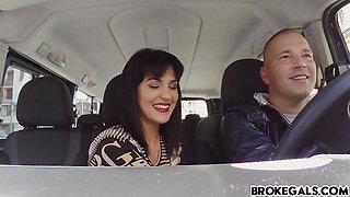 Demanding Teen Bella Beretta Fucks In Car