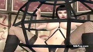 animated big boobs lesbian girl fuck eachother