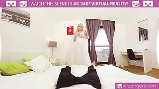 vr porn-hot bridesmaid fuck before wedding