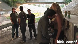 dirty slave girl squirts bdsm segment 1