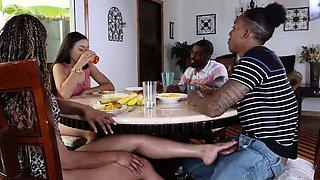 Ebony black female midget Family Betrayals