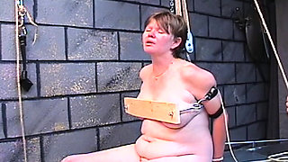 Lusty lovely girlfriend is using her milk sacks