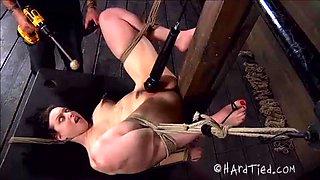 Slut Tied Upside Down And Punished