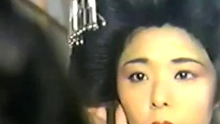 Japanese girls getting fucked in vintage movie