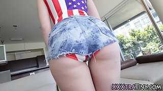 short american teen jizz