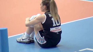 Turkish volleyball girls damla cakiroglu hale kantarciogu