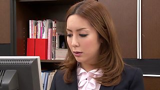 Amazing Japanese model Emiru Amane in Best small tits, office JAV video