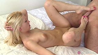 Exotic pornstars Uma, Ian in Fabulous Romantic, Skinny porn scene