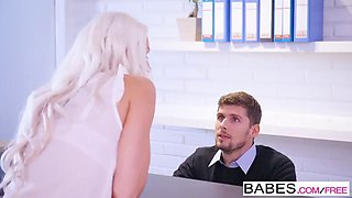 babes - office obsession - dont mind the flash  starring  bl