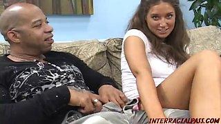 Teen jayma reid takes monster black meat