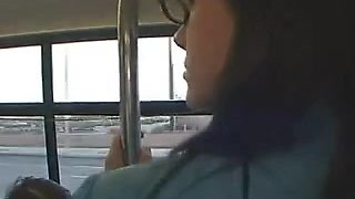 Chikan in  L.A Bus Stephanie sage