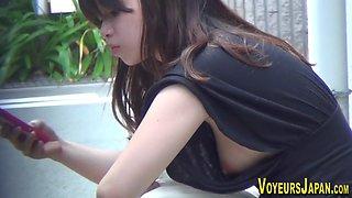 Japanese nipples spied