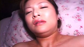 Slender Japanese hoe is in love with her rabbit vibrator