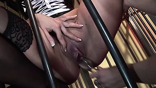Sexy brunette and two hot blondes enjoy remarkable lesbian