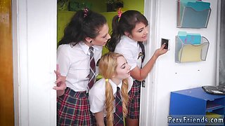 Party hd first time After School Detention