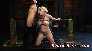 Tranny dominates couple first time Big-breasted platinum-blo