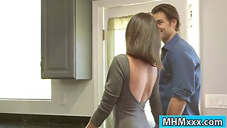 Milf Silvia Saige gets pounded by her hunk babysitter