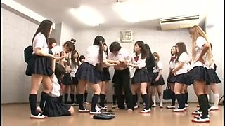 Japanese Large Group Thong On Fuck