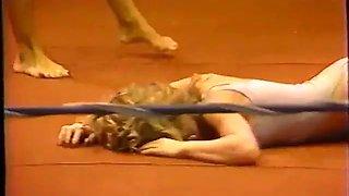 Classic renee vs ashley wrestling