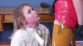 Olivia Kasady is an obedient babe ravished by Nurse Holl