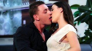 Hot couple make a romantic