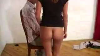 Indian girl getting spanked