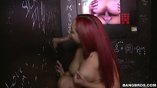 staci doll in the gloryhole