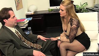 Holly Heart has always wanted to be a secretary in this...